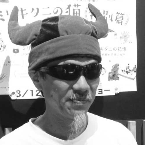映像作家マサ・ヨシカワ氏のポートレート写真