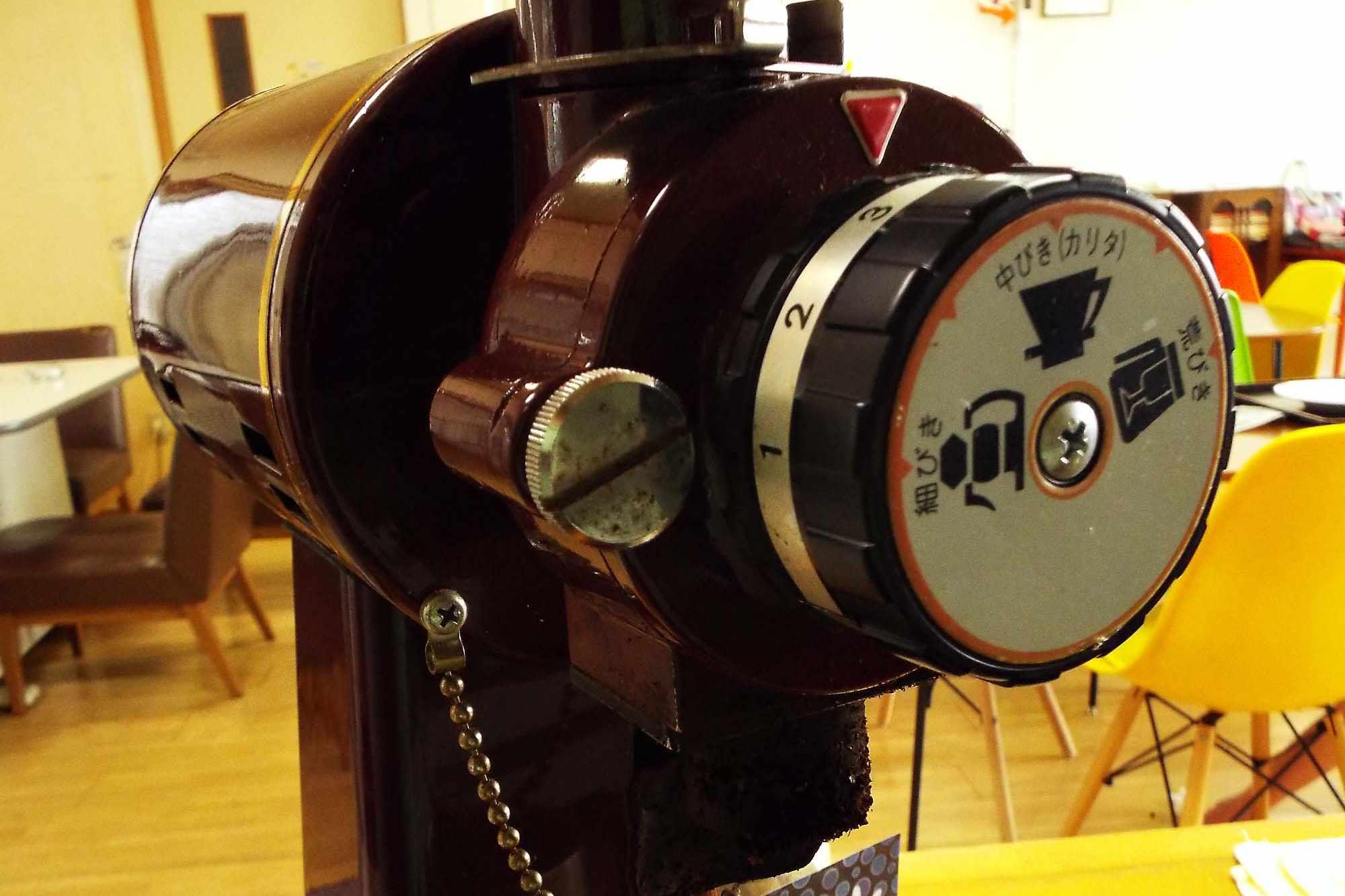 コーヒーミルの写真